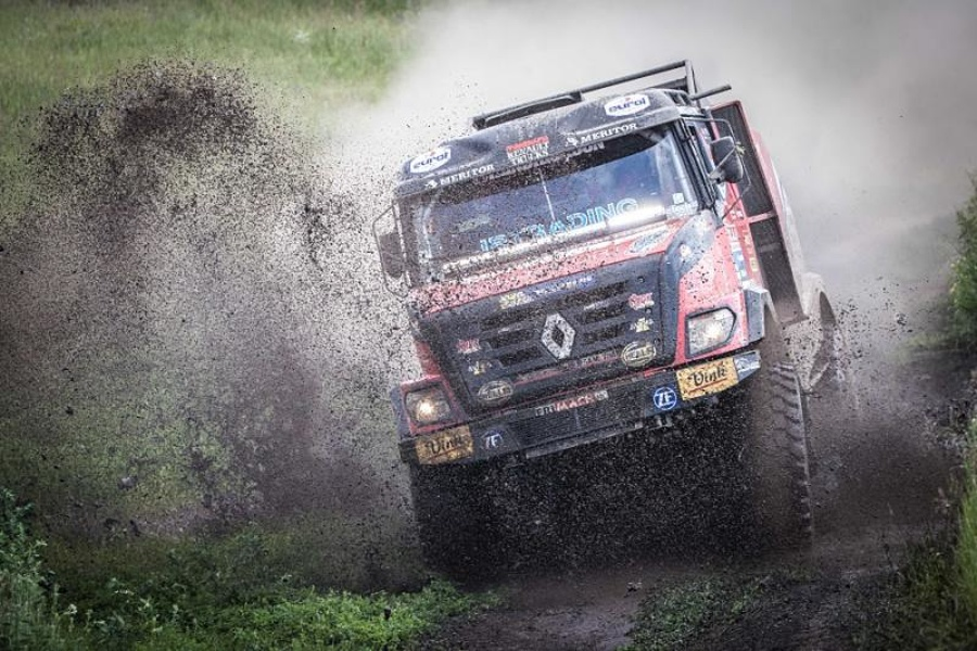 Renault Trucks in MKR na reliju Silk way rally