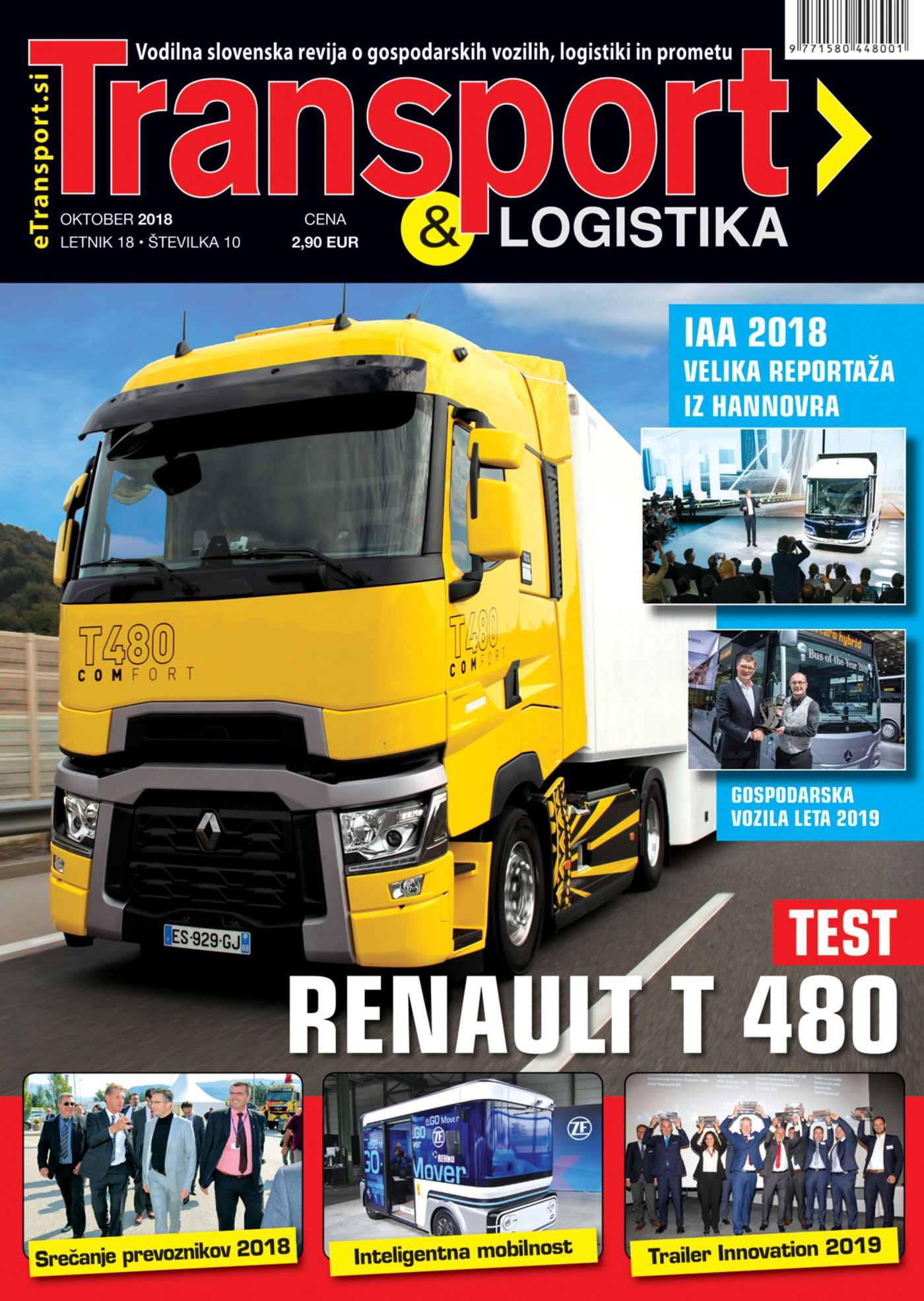 Revija Transport & Logistika oktober 2018