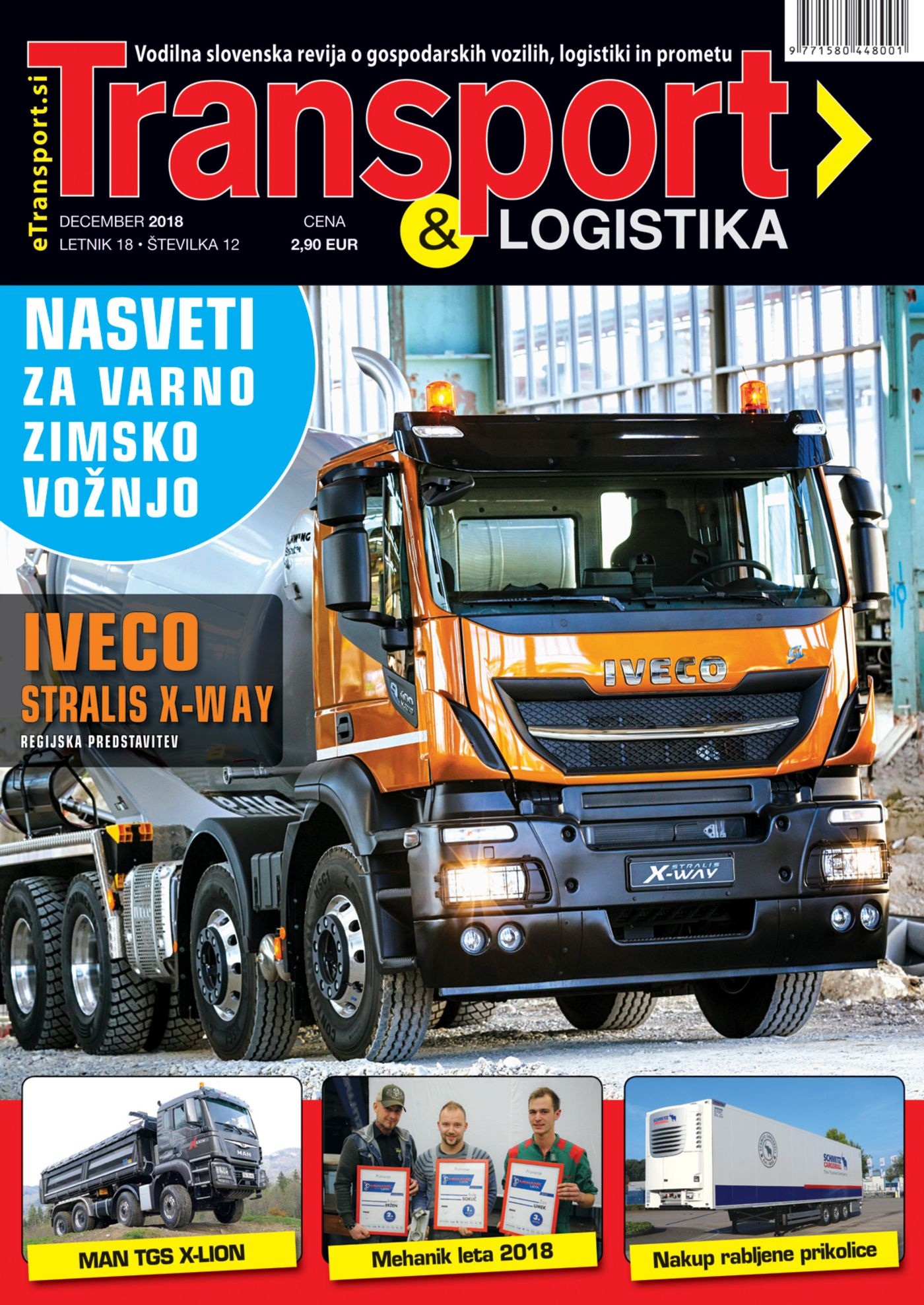 Naslovnica Transport december 2018