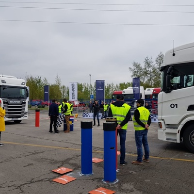 Scania Drivers Competitions: Zmagal je Slovenec Rok Bečan!
