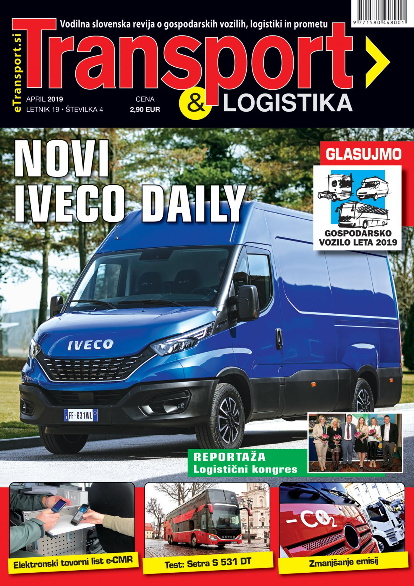 Revija Transport & Logistika april 2019