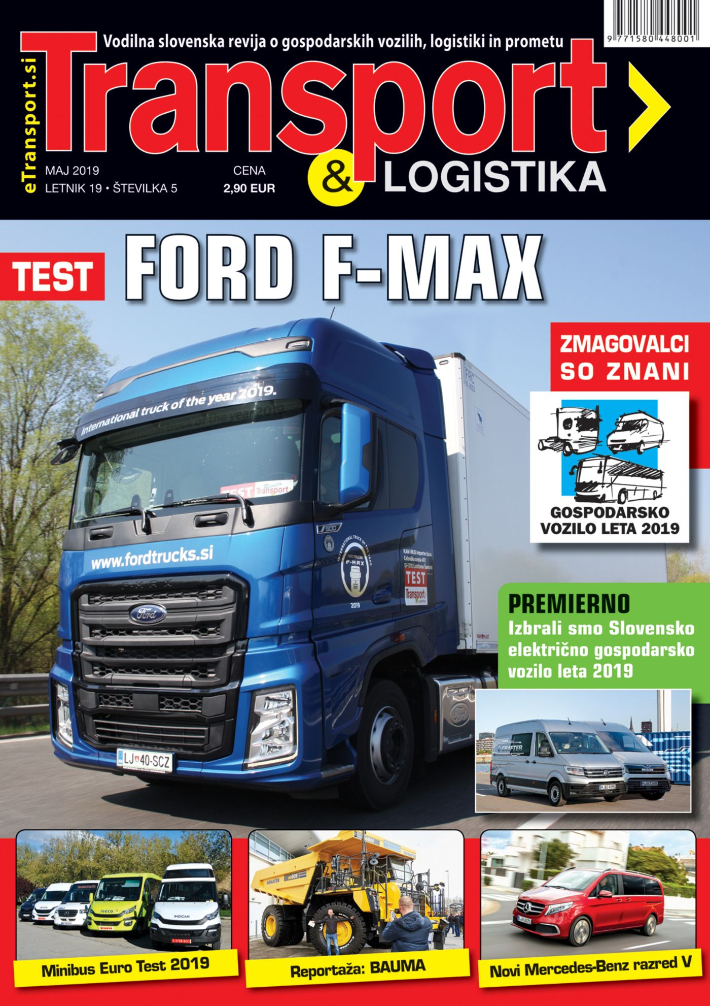 Revija Transport & Logistika Maj 2019