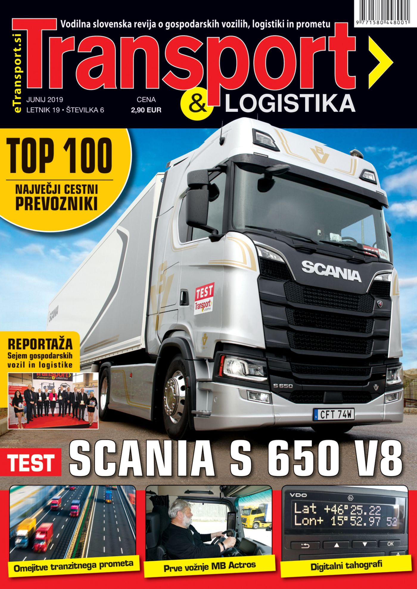 Transport & Logistika Junij 2019