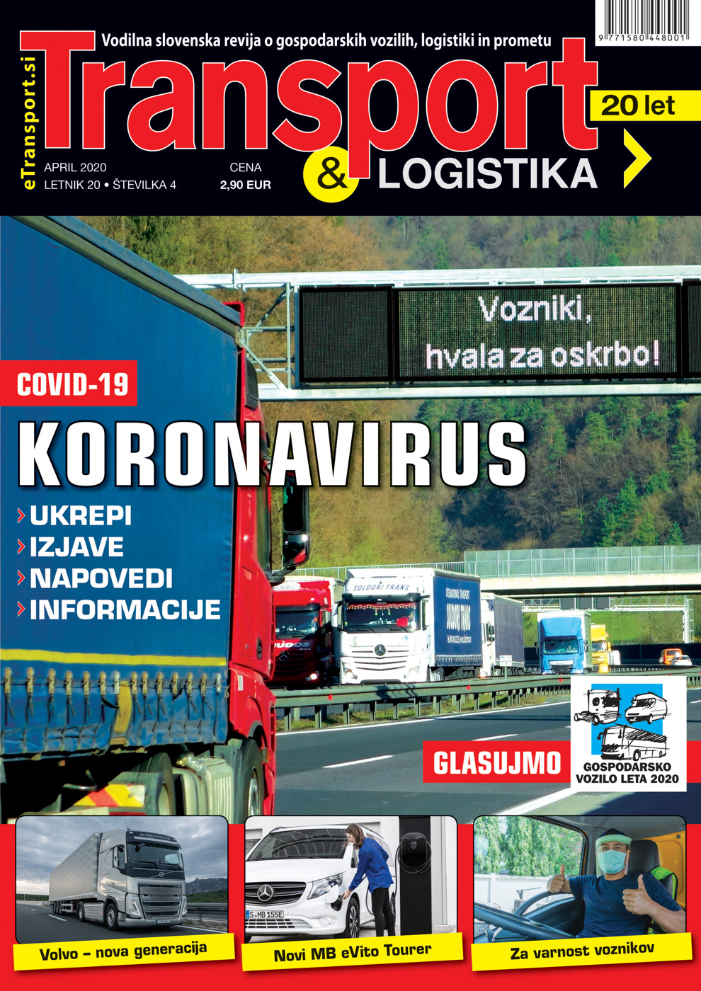 Revija Transport & Logistika april 2020