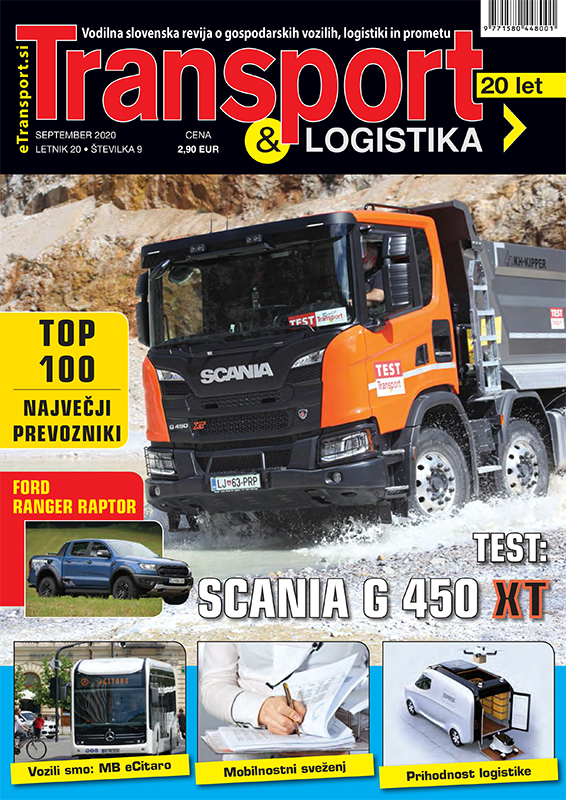 Revija Transport & Logistika september 2020